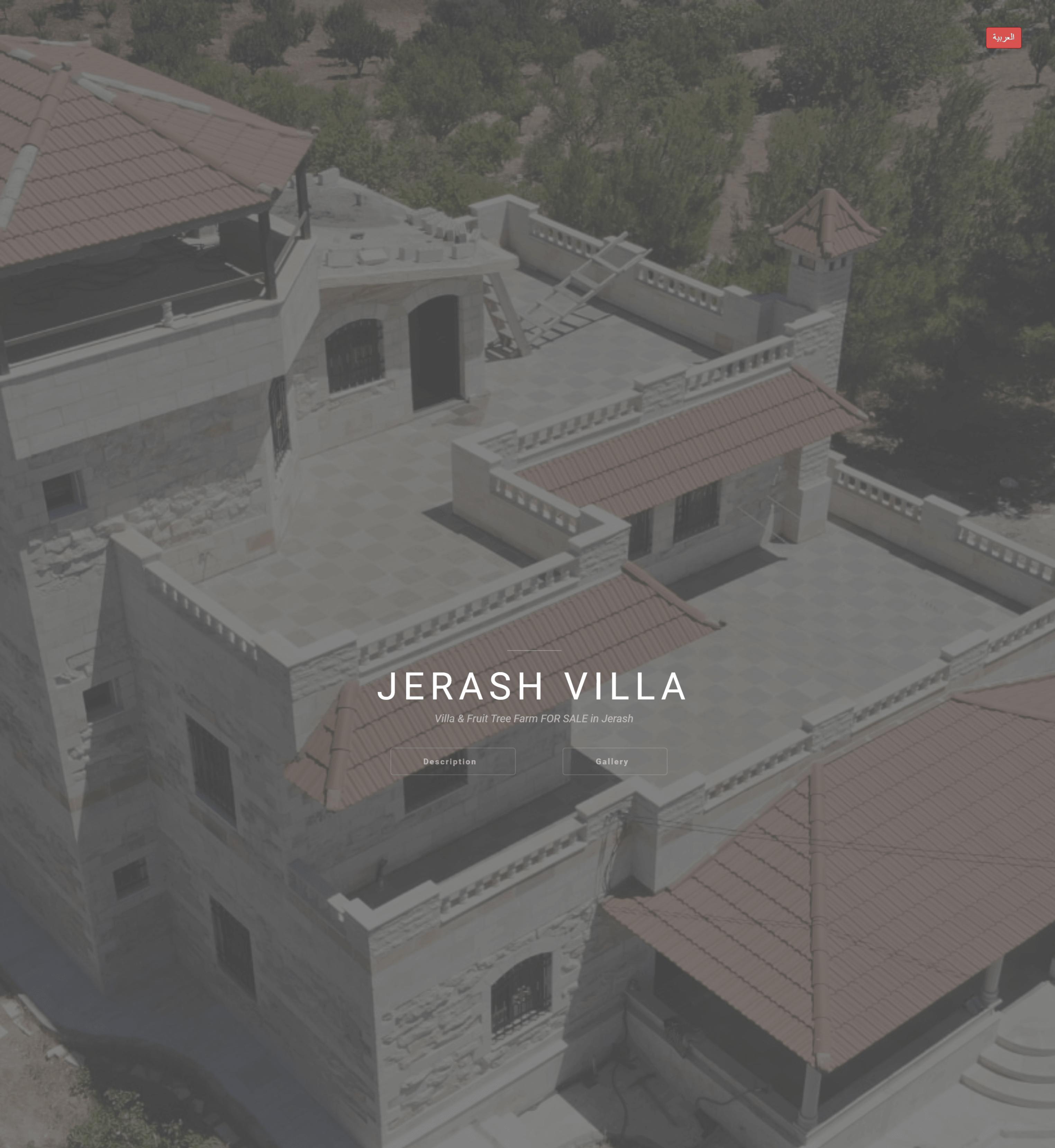 Jerash Villa